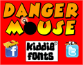 Illustration of font DANGER MOUSE