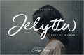 Illustration of font Jelytta