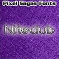 Illustration of font Niteclub