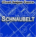 Illustration of font Schnaubelt