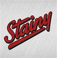 Illustration of font Stainy Personal Use Only