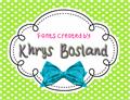 Illustration of font KBStripedPajamas