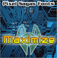 Illustration of font Maximize