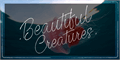 Illustration of font Beautiful Creatures