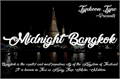 Illustration of font Midnight Bangkok