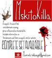 Illustration of font MSKITOKILLA