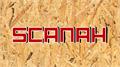 Illustration of font Scanah