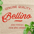 Illustration of font Bellino PERSONAL USE ONLY