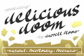Illustration of font Delicious Doom