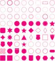 Illustration of font frames