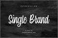 Illustration of font Single Brand Demo