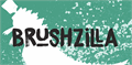Illustration of font DK Brushzilla