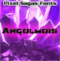 Illustration of font Angolmois