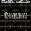 Illustration of font Chapleau