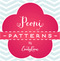 Illustration of font Peoni Patterns