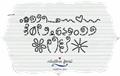 Illustration of font MTF Chunkie Doodle