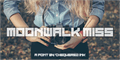 Illustration of font Moonwalk Miss