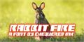 Illustration of font Rabbit Fire