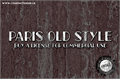 Illustration of font CF Paris Old Style