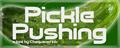 Illustration of font Pickle Pushing
