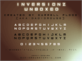 Illustration of font Inversionz Unboxed