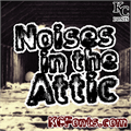 Illustration of font Noises in the Attic