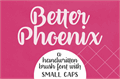 Illustration of font Better Phoenix Sample