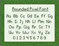 Illustration of font RoundedPixel