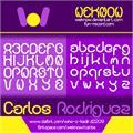 Illustration of font carlos
