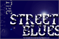 Illustration of font Street Blues