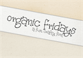 Illustration of font Organic Fridays