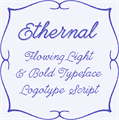 Illustration of font Ethernal Bold PERSONAL USE