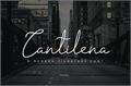 Illustration of font cantilena