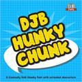 Illustration of font DJB HUNKY CHUNK