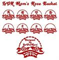 Illustration of font LCR Mom's Rose Basket