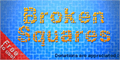 Illustration of font Broken Squares