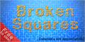 Illustration of font Broken Squares