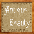 Illustration of font Antique Beauty