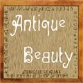 Illustration of font Antique Beauty