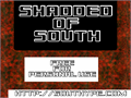 Illustration of font Shadded of South