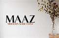 Illustration of font Maaz Bold