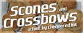 Illustration of font Scones and Crossbows