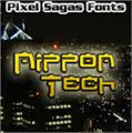 Illustration of font Nippon Tech