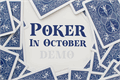 Illustration of font Poker In October Demo