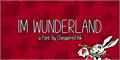 Illustration of font Im Wunderland