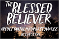 Illustration of font Blessed Believer