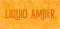 Illustration of font Liquid Amber DEMO