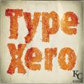 Illustration of font Type Xero