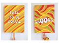 Illustration of font Hip Moves