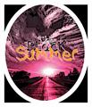 Illustration of font The Black Summer
